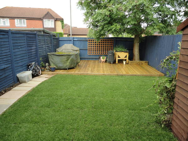 Decking and Turf in Aylesbury after