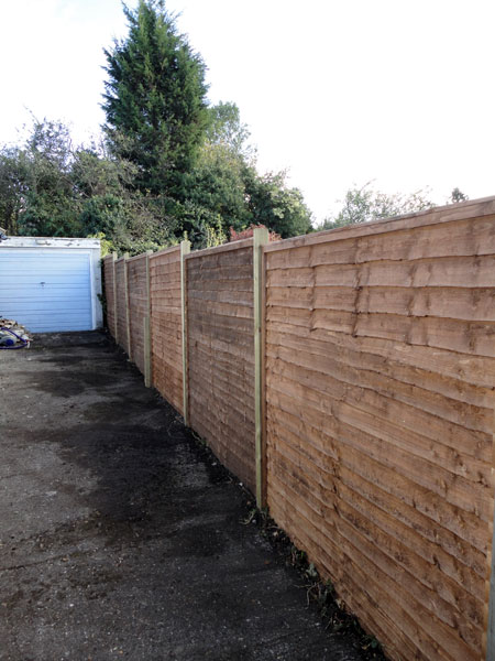 Fence in Princes Risborough after