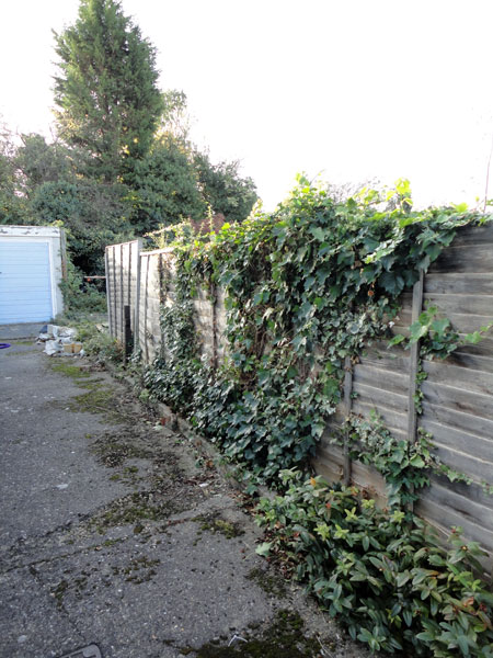 Fence in Princes Risborough before