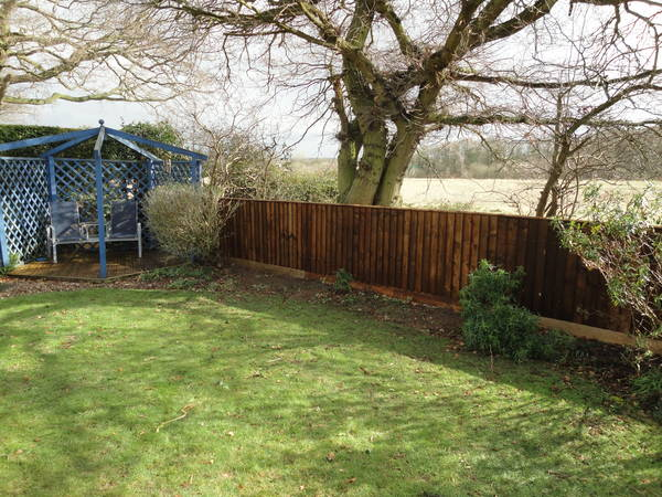Four foot high Close Board Fencing